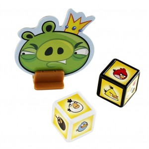 King Pig and Angry Bird Dice