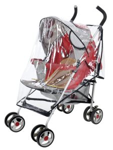 Clear Waterproof Rain Cover for Pushchair Strollers