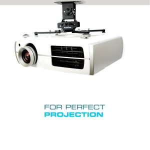 Universal Ceiling Mount Projector Accessory by QualGear
